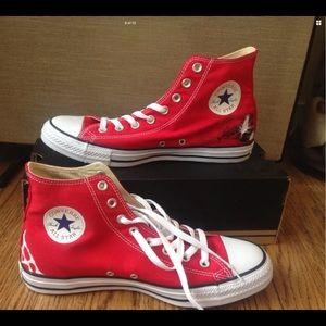 b4298f731984b8 Converse Shoes - Custom Converse Spiderman Marvel